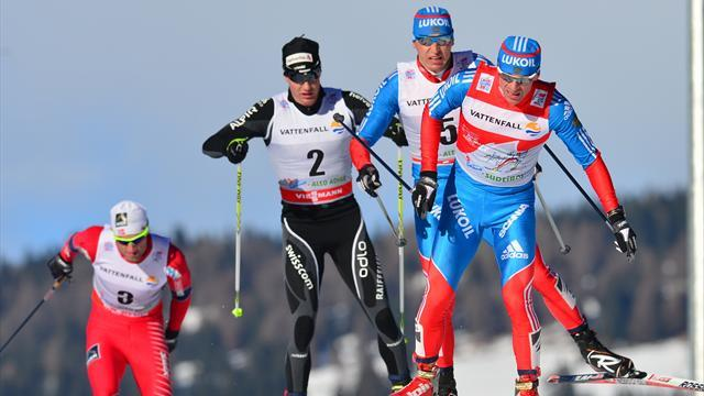 Cross-Country Skiing - Legkov takes Tour de Ski lead as Northug slips back