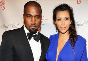 Kayne West and Kim Kardashian  | Photo Credits: Theo Wargo/WireImage