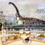 臺博雨林咖啡館-恐龍餐廳