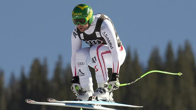 Alpine Skiing - Kroell sets early pace at Beaver Creek