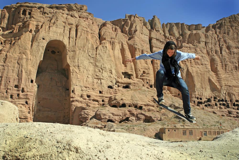 El deporte de moda entre las afganas