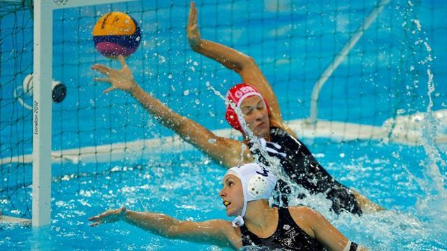 Olympic Games - GB water polo ladies suffer defeat in Olympic bow