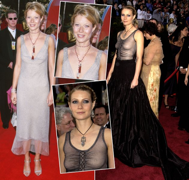 Gwyneth Paltrow in ihren Oscar-Outfits 2000 und 2002