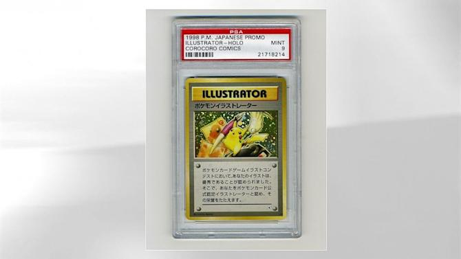 Rare Pokemon Card Yours for at Least $50K