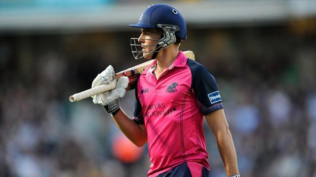 County - Middlesex sneak home against Somerset