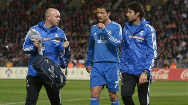 Liga - Injured Ronaldo to miss Real's clash with Valladolid