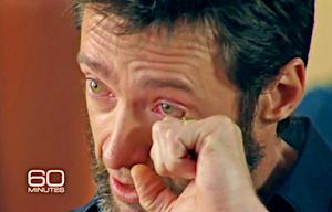 Hugh Jackman Cries on 60 Minutes Remembering His Mother's Abandonment