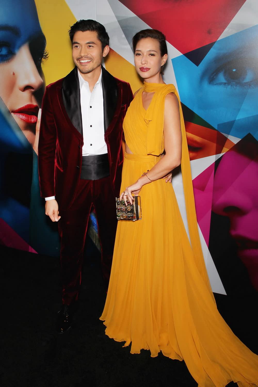 <p>身為台灣女婿的《瘋狂亞洲富豪》男星亨利高汀(Henry Golding),也攜太座羅愛英(Liv Lo)甜蜜出席。 </p>