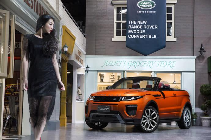 車壇直擊-Range Rover Evoque Convertible