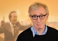 "US film director Woody Allen poses during the photocall for his movie ""To Rome With Love"" in Rome. Fans of Allen's films have seen signs of a creative revival for the master after his 1970s classics such as ""Annie Hall"" and ""Manhattan"""