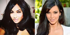 Kim Kardashian Look-Alike Claire Leeson Spent More Than $30,000 on Plastic Surgery: Pictures