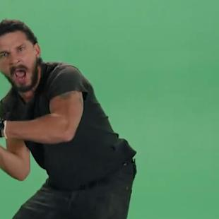 Shia LeBeouf Is Your Psycho Green-Screen Motivational Speaker: Wrap Trends (Video)