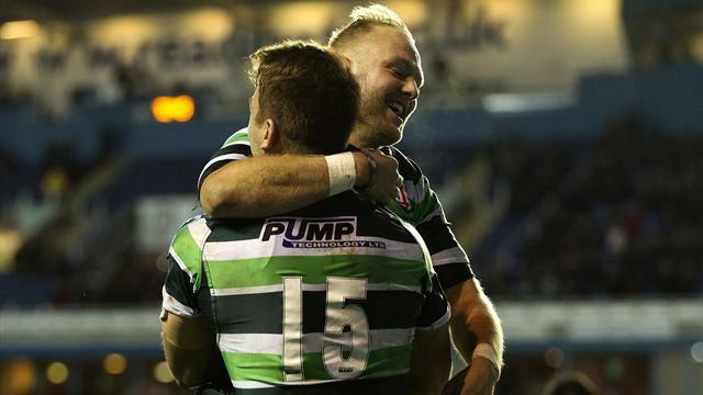 European Challenge Cup - Irish too strong for Stade Francais, Falcons stroll to victory