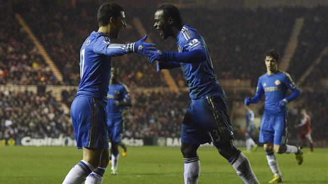 FA Cup - Chelsea oust Middlesbrough to set up United clash