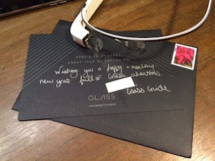 Google Glass Fails Social Customer Service image GoogleGlass holiday card