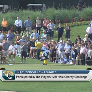 Jaguars golf for charity