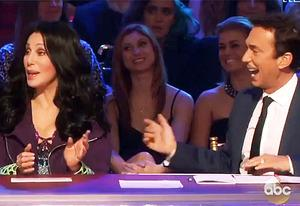 Cher and Bruno Tonioli | Photo Credits: ABC
