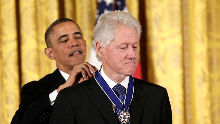 President Obama Awards Presidential Medal Of Freedom