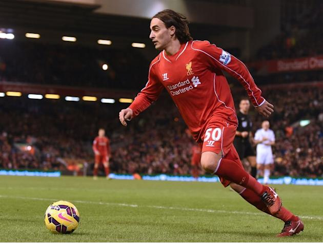 Serbian midfielder Lazar Markovic joined Liverpool from Benfica for a reported fee of £20 million last year, but made only 11 Premier League starts last season and is yet to feature in the current cam