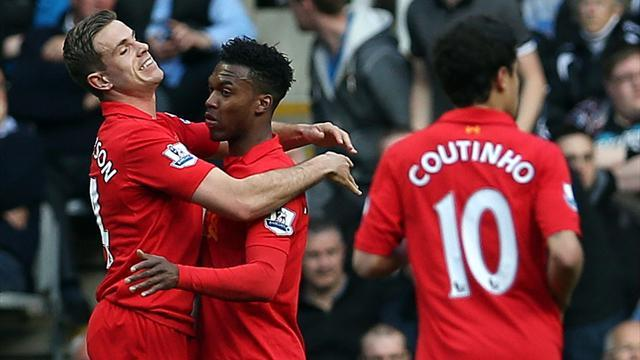 Premier League - Liverpool put six past appalling Newcastle
