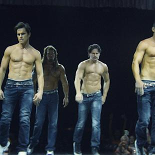"""This image released by Warner Bros. Pictures shows a scene from """"Magic Mike XXL,"""" in theaters on July 1. (Claudette Barius/Warner Bros. Pictures via AP)"""