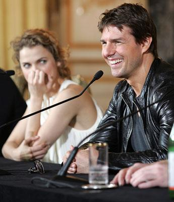 Keri Russell and Tom Cruise Mission: Impossible III Rome Press Conference Rome, Italy - 4/24/06