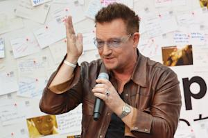 Bono Embraces 'Inner Nerd' in Fight Against Poverty