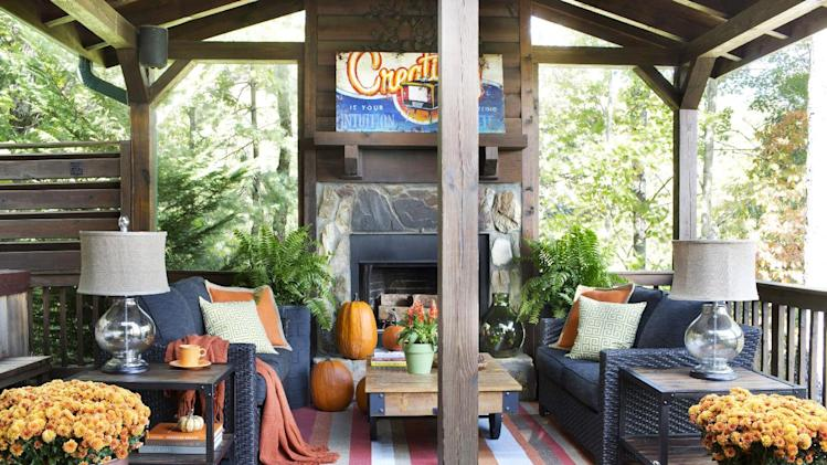Simple steps to a home both cozy cost efficient yahoo news for Cost of outdoor living space