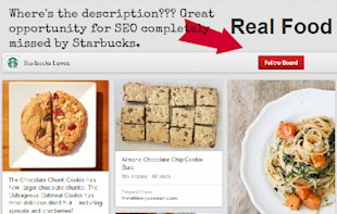 5 Reasons Why Starbucks' Pinterest Strategy is Not A Big Hit image StarbucksPinterest Description
