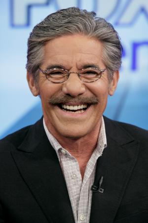 """FILE - Geraldo Rivera on the """"Fox & friends"""" television program in New York in this June 25, 2010 file photo. Rivera, who hosts a weekend show on Fox News Channel, said Thursday Jan. 31, 2013 he's seriously thinking about running for U.S. Senate in New Jersey.  (AP Photo/Richard Drew, File)"""