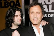 Sylvester Stallone's son Sage (L) and brother Frank (R) arrive at a movie premiere in California in 2006. Sage Stallone was found dead at his Hollywood home on Friday