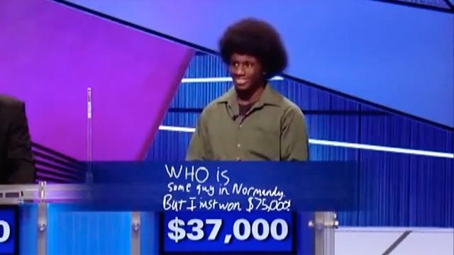 Hilarious Jeopardy Answer Wins Teen $75K