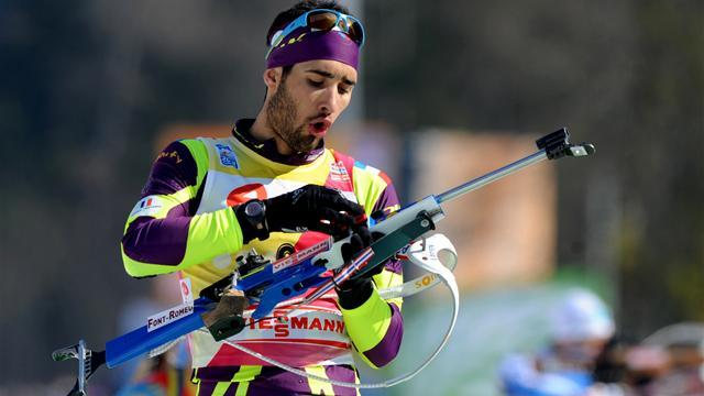 Biathlon - Fourcade wins men's 10km sprint