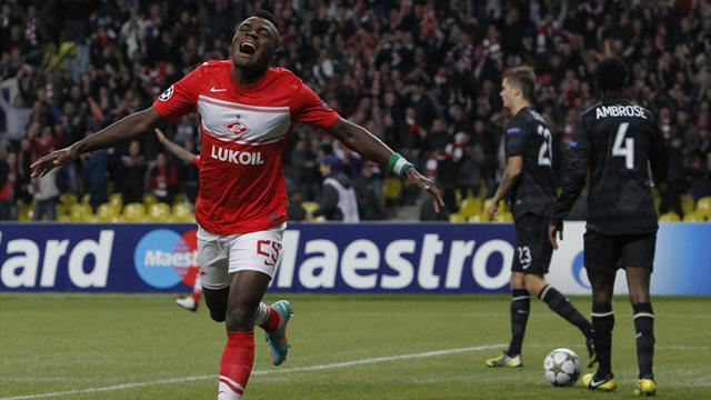 Champions League - Spartak without key strikers for Benfica clash
