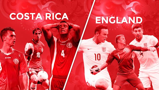 World Cup - Costa Rica: v England: LIVE