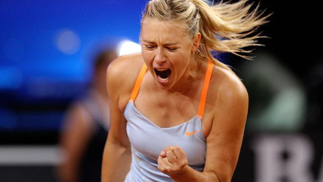 Australian Open - Sharapova dominant on return from injury in Brisbane
