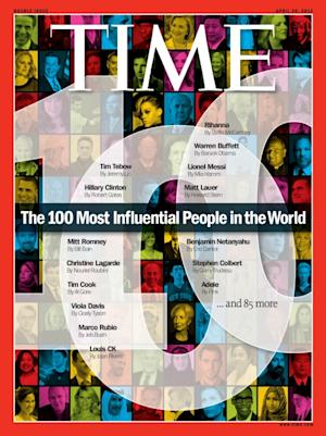 Time Magazine's 100 Most Influential People 2012 cover -- Time Magazine