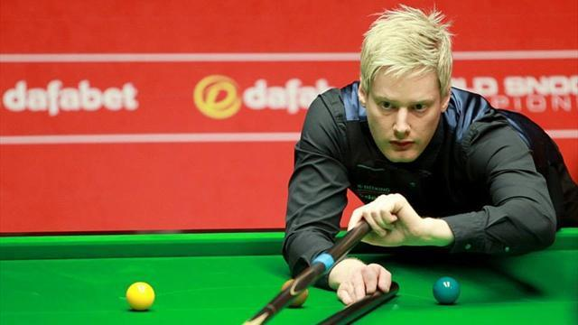 Snooker - Robertson to face Trump as Murphy sets up O'Sullivan quarter-final