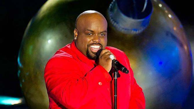 Cee Lo Green Rockefeller Tree Lighting