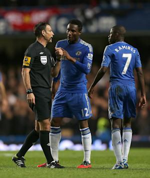 Mark Clattenburg, left, is understood to be completely denying the allegations made by Chelsea