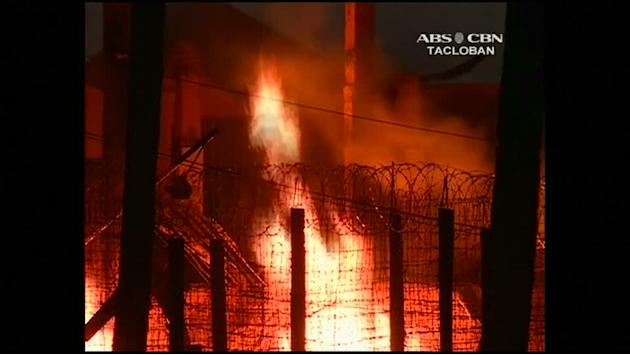 Philippines prison fire kills 10 inmates