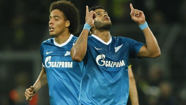 Champions League - Hulk wonder goal not enough as Dortmund oust Zenit