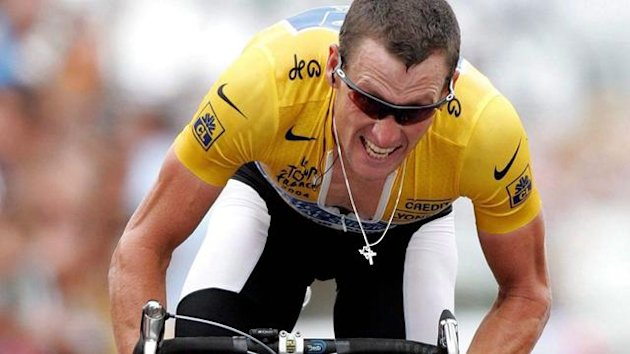 CYCLING 2004 Tour de France Lance Armstrong Alpe d'Huez
