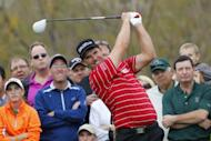 Three-time major-winner Padraig Harrington during the Waste Management Phoenix Open in Arizona on February 3, 2013. Harrington and Paul McGinley will be the headline acts at next month's Thailand Open, organisers said Friday
