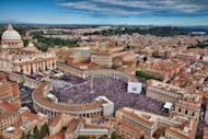 An aerial view of St Peter's Square in the Vatican City. The Vatican is hunting for the masterminds of leaks that have enraged the Holy See, with few believing the pope's arrested butler was behind the scandal, Italian media reported on Sunday