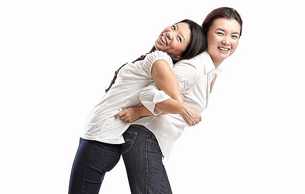 Pauline and Louisa, the two behind the Happy Call community (Photo courtesy of Bene Tan, Cause & Effect Studio)