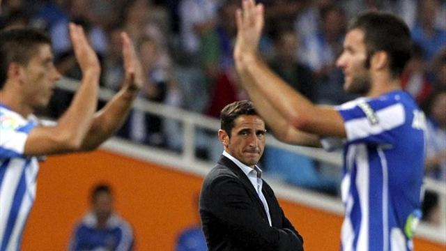 La Real Sociedad sale del fondo de la tabla