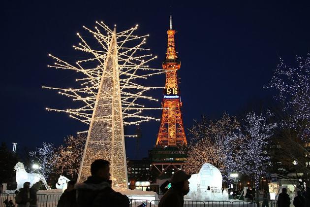 Travel Japan Sapporo Snow Festival