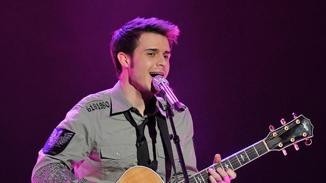 "Kris Allen performs performs ""How Sweet It Is"" by Marvin Gaye on ""American Idol."""