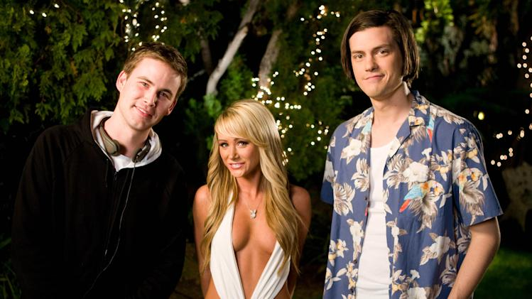 Director Zach Cregger Sara Jean Underwood Director Trevor Moore Miss March Production Stills Fox Searchlight 2009